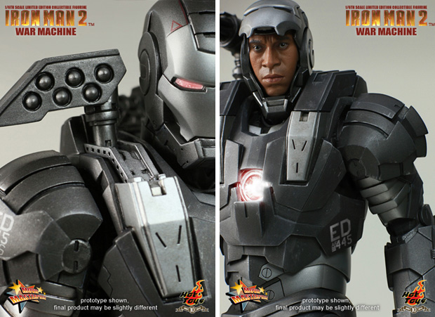 hot toys iron man ii war machine figure