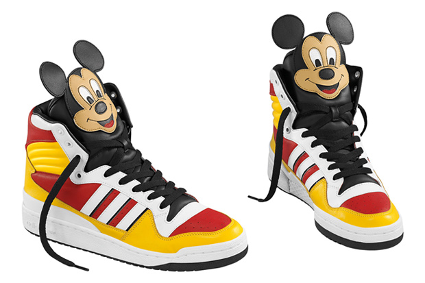 Jeremy Scott Mickey Mouse Adidas