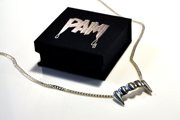 pam pam fangs necklace