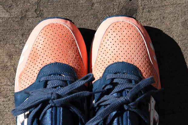 asics gel lyte v salmon toe
