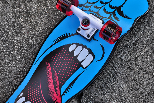 santa cruz deck hypebeast 4 Santa Cruz Screaming Foot Cruzer