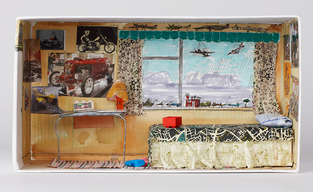 Miniature Children S Bedroom Room Box Diorama: Shoebox Art Auction & Exhibition
