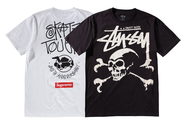 stussy 30th anniversary xxx tshirt collection group 2 paul mittleman qa