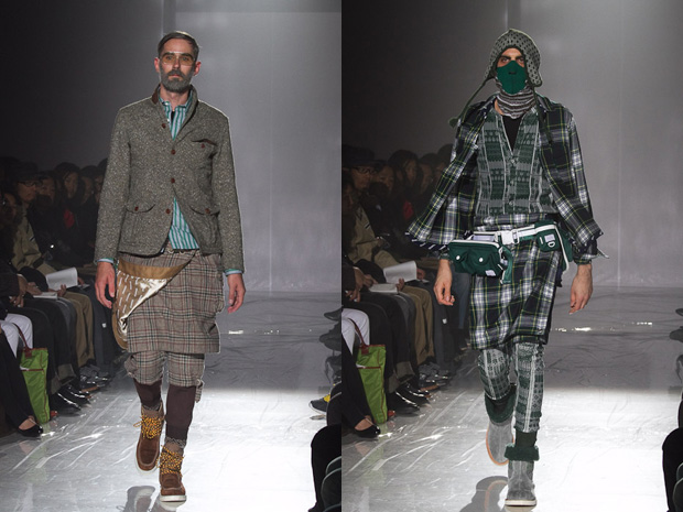 white mountaineering 2010 fallwinter collection