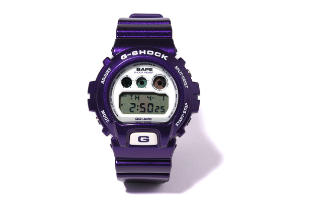 bape bathing ape casio gshock dw6900 A Bathing Ape x CASIO G SHOCK DW 6900