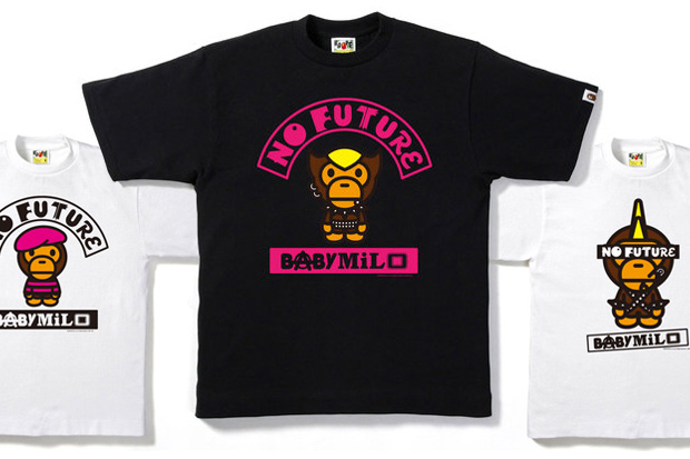 bathing ape baby milo future tshirt collection
