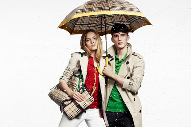 burberry 2010 summer april showers capsule collection