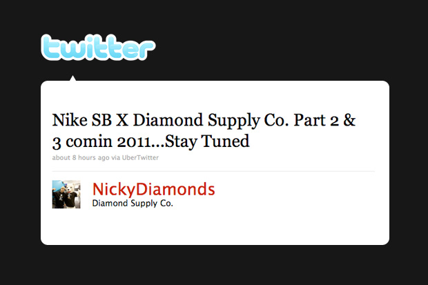 diamond supply nike sb 2011 release