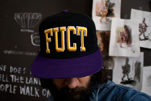 fuct starter snapback collection