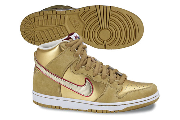 eric koston nike dunk high sb thai temple