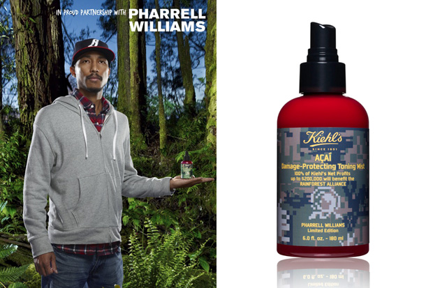 pharrell williams kiehls toning mist