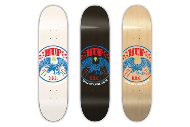 real skateboards huf limited edition decks