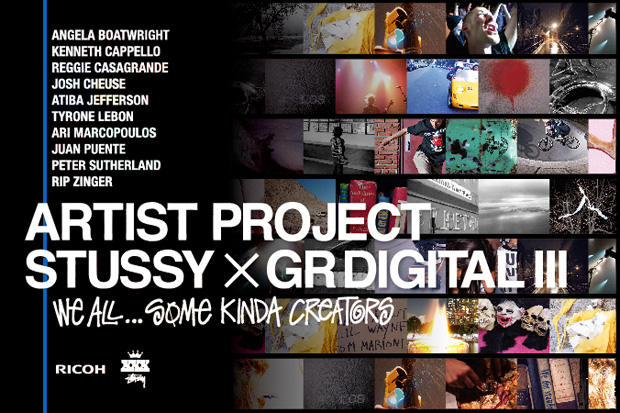 stussy ricoh gr digital iii artist project exhibition