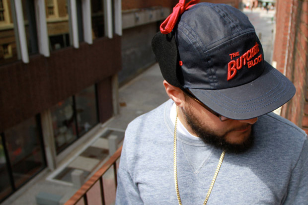 butchers block quintin 5panel fitted cap