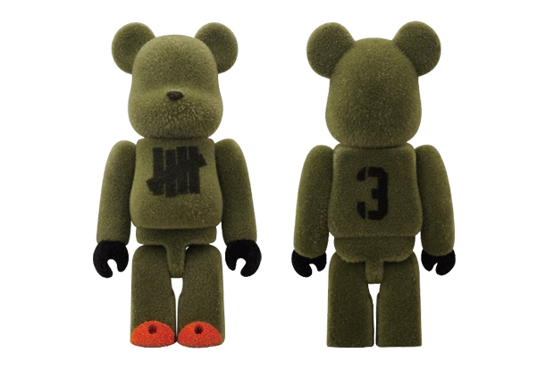 undefeated medicom toy 100 bearbrick