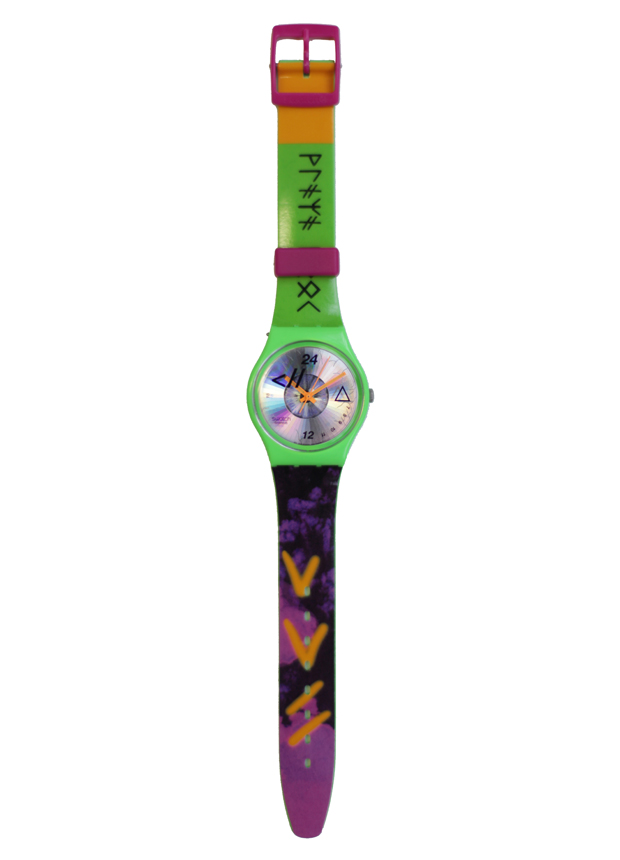 cassette playa swatch art watch 2 Cassette Playa x Swatch & Art Collection Playa Look Watch