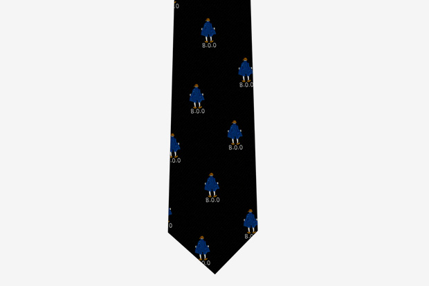 colette band outsiders colored tie