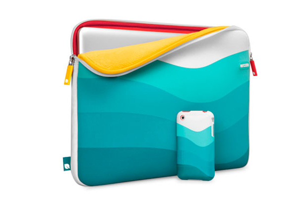 incase bondi beach 15 macbook sleeve slider case