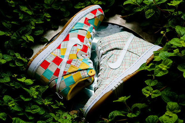 nike dunk high patchwork pack