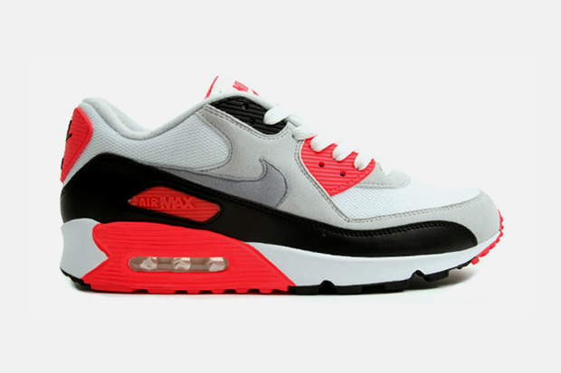 nike air max 90 infrared 2010 released