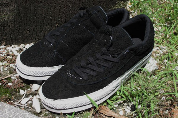 number converse black asymmetrical one star
