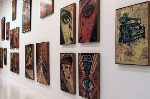 shepard fairey day exhibition recap