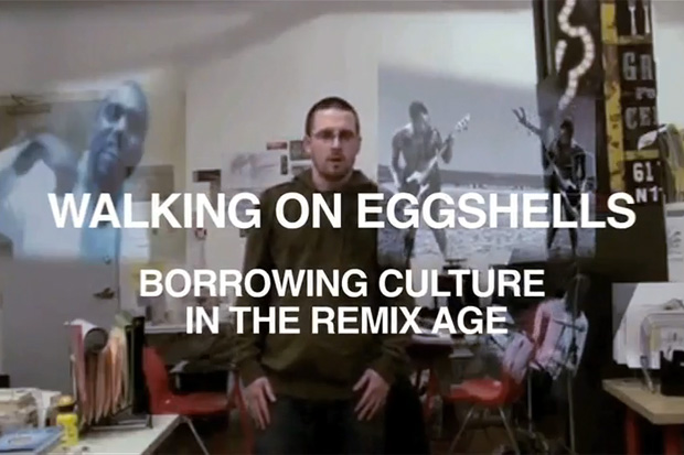 walking eggshells borrowing culture remix age