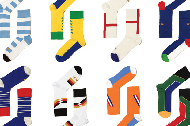 wong wong happy socks world cup 2010 collection