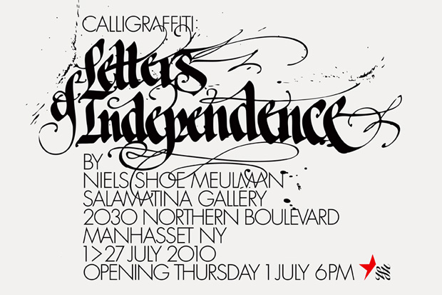 calligraffiti letters independence