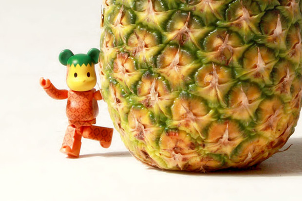 clot levis medicom toy exotic fruit bearbricks collection