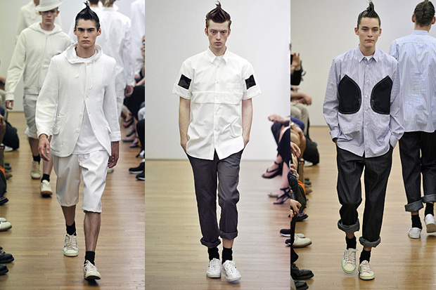 comme des garcons shirt 2011 spring summer collection