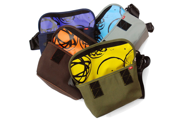 futura laboratories crank messenger bags