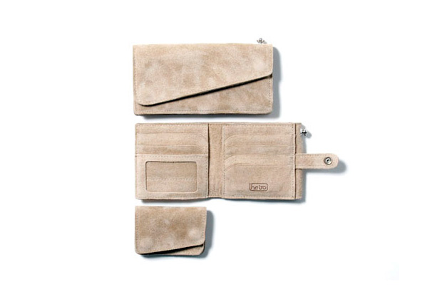 hobo 2010 springsummer collection double face leather wallets