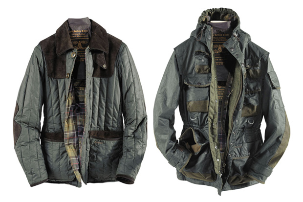 tokihito yoshida x barbour 2010 fallwinter collection preview