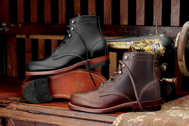 wolverine 1000 mile 2010 fallwinter collection