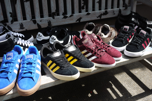 The adidas Originals concept store No. 6 recently received a new batch of  sneakers from adidas Skateboarding. Highlight models from the lineup  include the ...