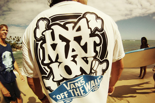vans in4mation hawaii tshirt collection