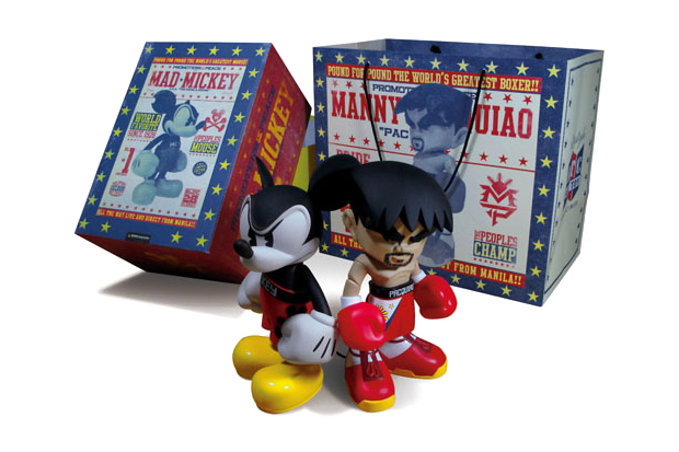 manny pacquiao bloc28 mindstyle mad mickey set