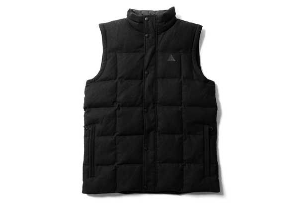 pendleton nike acg triple black collection vest button shirt
