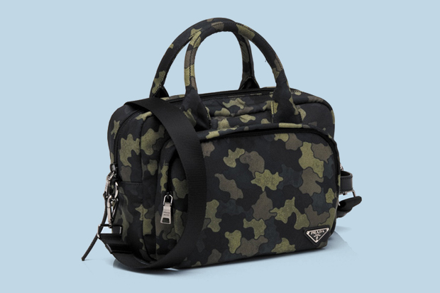 prada 2010 fallwinter camouflage luggage collection