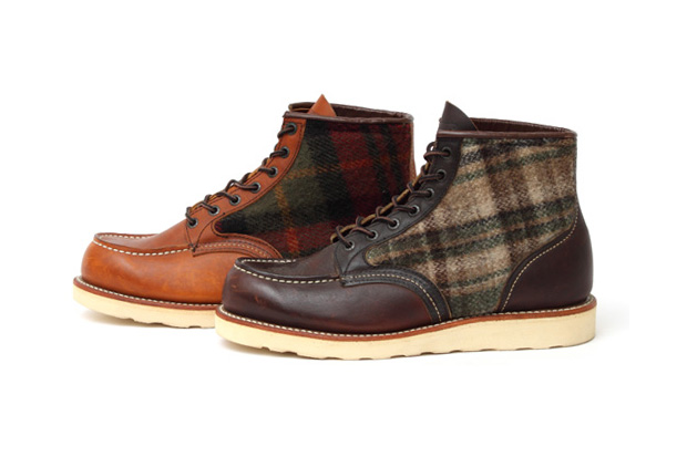 red wing woolrich classic work boots