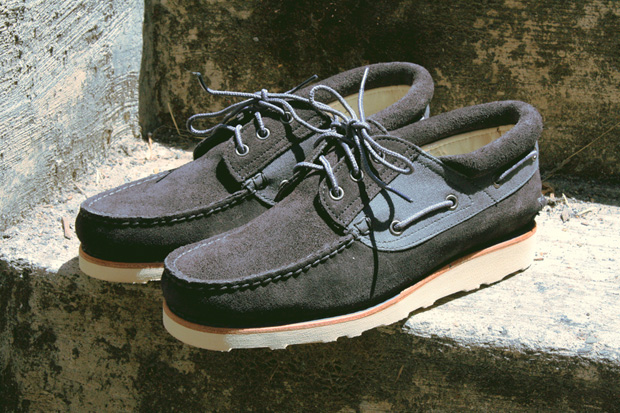 timberland abington boat wedge shoes