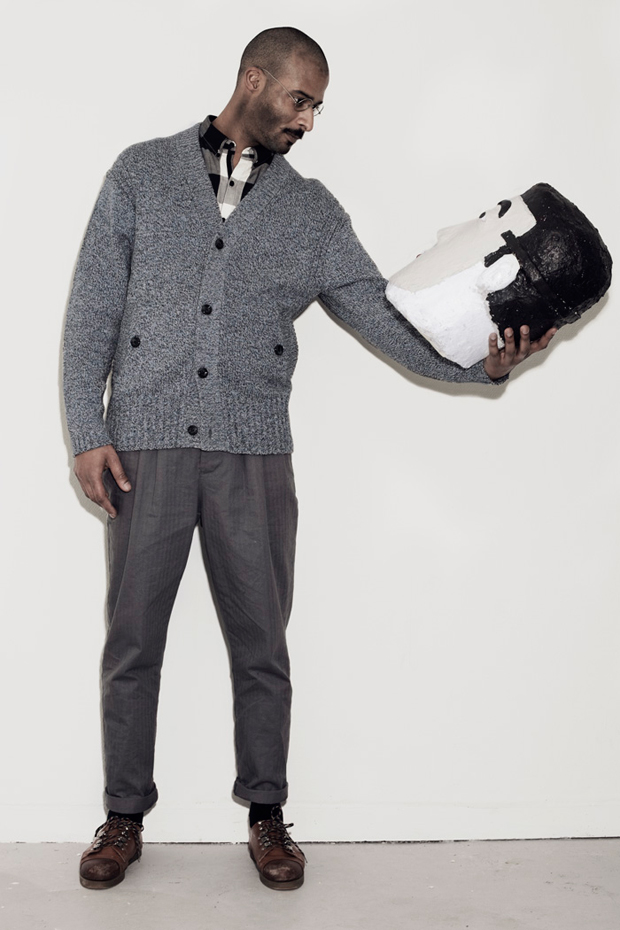 uniforms dedicated 2010 fallwinter collection