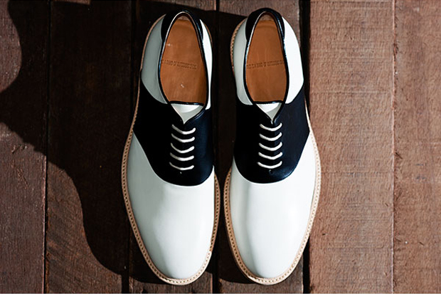 band outsiders 2010 fallwinter saddle shoes