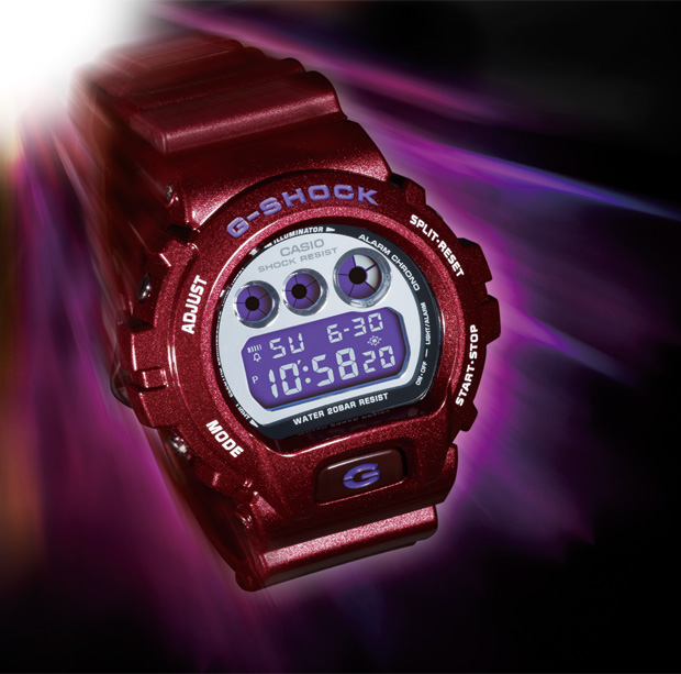 casio gshock mirror face collection releases