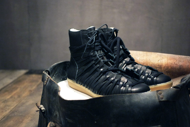 damir doma 2010 fallwinter leather lace up sneaker