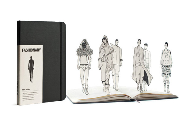 fashionary menswear a sketchbook tailor made for designers