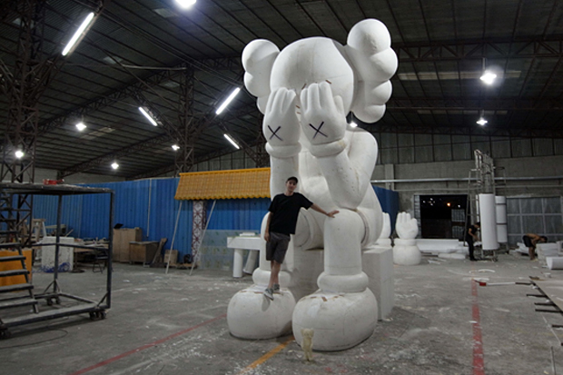 kaws companion passing preview