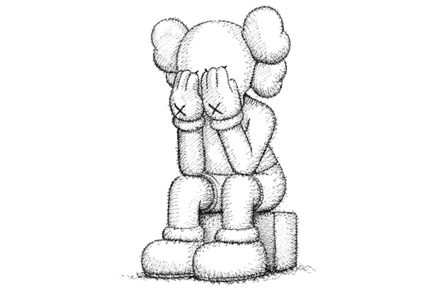 kaws passing through exhibition details