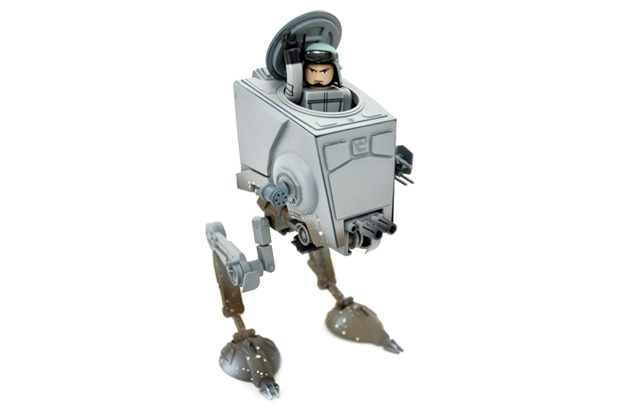 medicom toy x star wars kubrick dx series 2 imperial at st scout walker